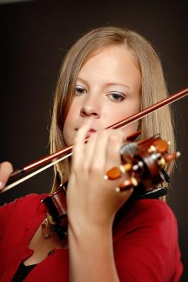 violinist headshot