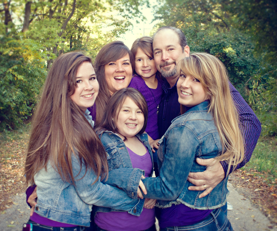 Senior Pictures with family