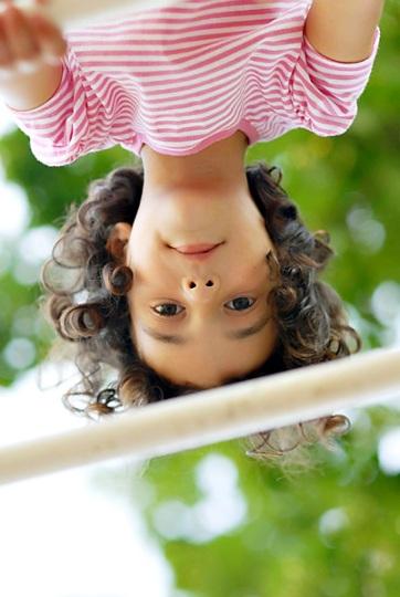 leah upside-down