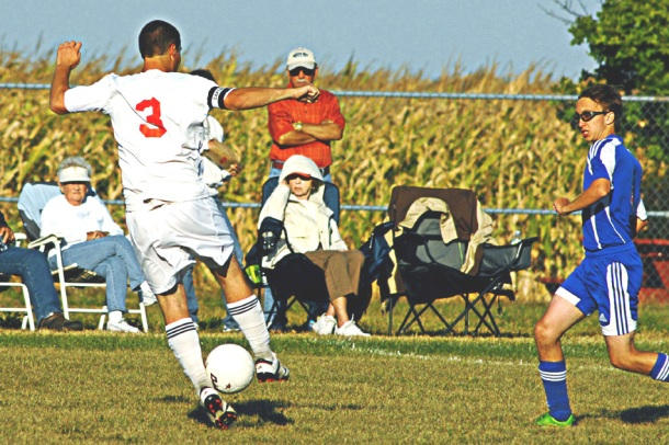 Sports action - Soccer Sept 6