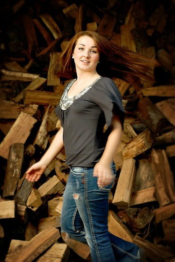 2012 senior girl photo