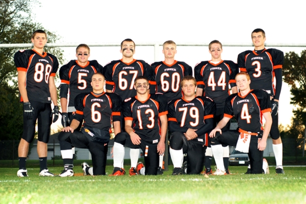 Fisher Senior Football Players