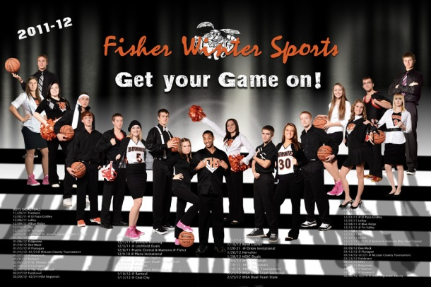 FHS winter sports poster