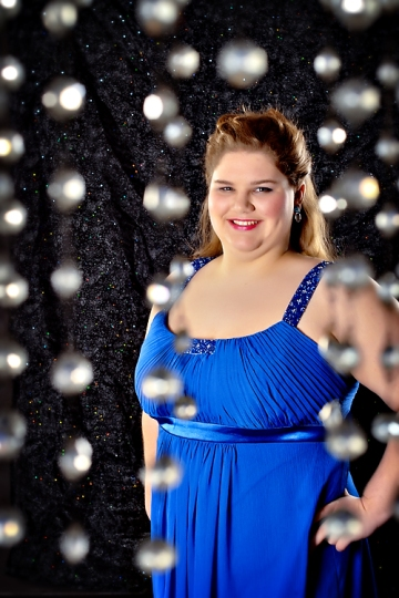 2012 Fisher senior in gorgeous royal blue formal