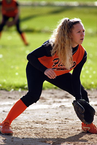 FHS Softball Player