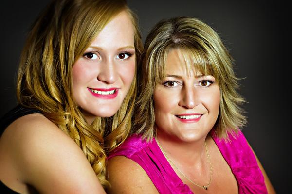 mother-daughter portrait