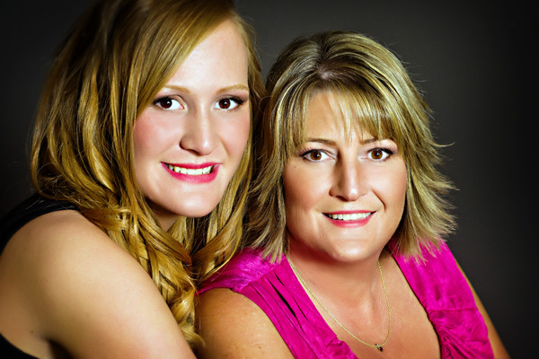 mother-daughter portrait