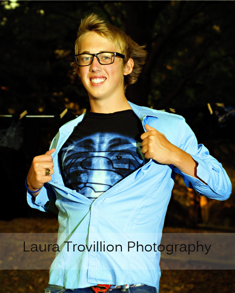 2013 superman senior pictures