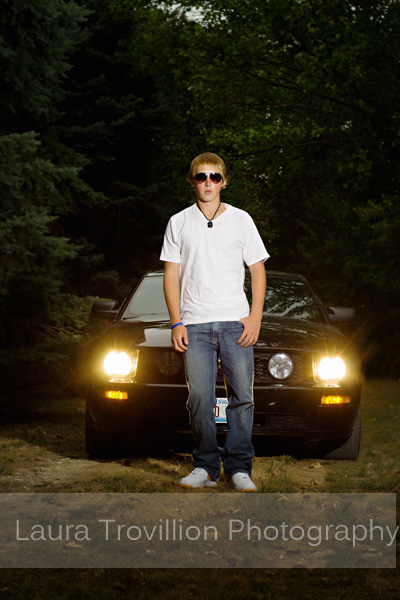 2013 senior pictures with ford mustang
