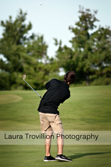 Fisher golf action photos