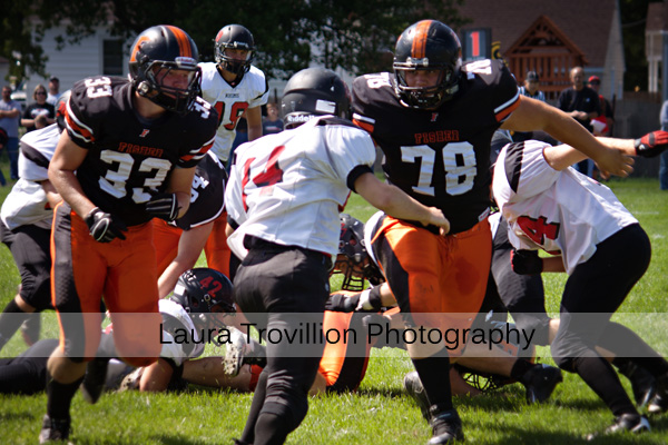 Fisher Football action photos