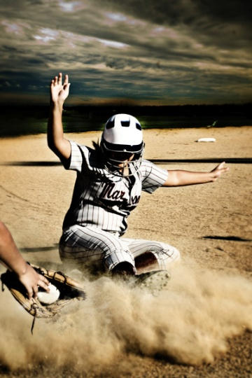 softball sportrait