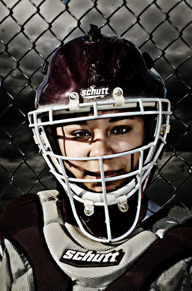 softball sportrait
