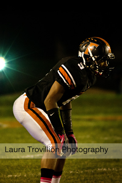Fisher Varisty Football action images