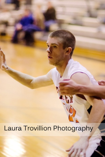 Fisher High School Basketball Action Photos