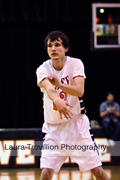 High School Boys Basketball Action Photos
