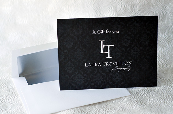 Laura Trovillion Photography Gift Certificates