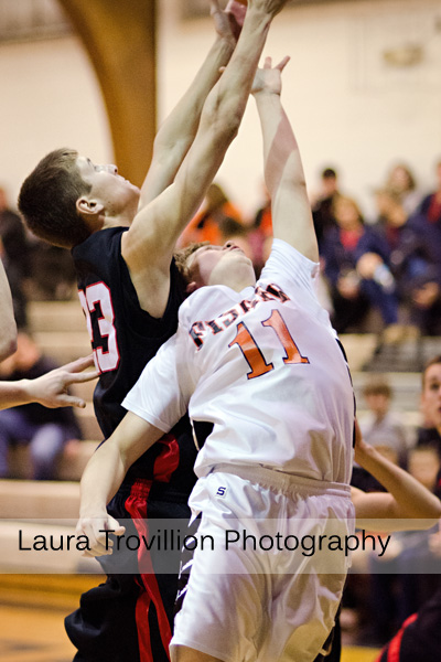 Fisher High School Boys Basketball Action Photos