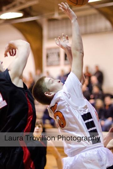 Fisher High School Boys Basketball Action Photos