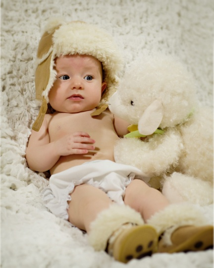 three month baby pictures