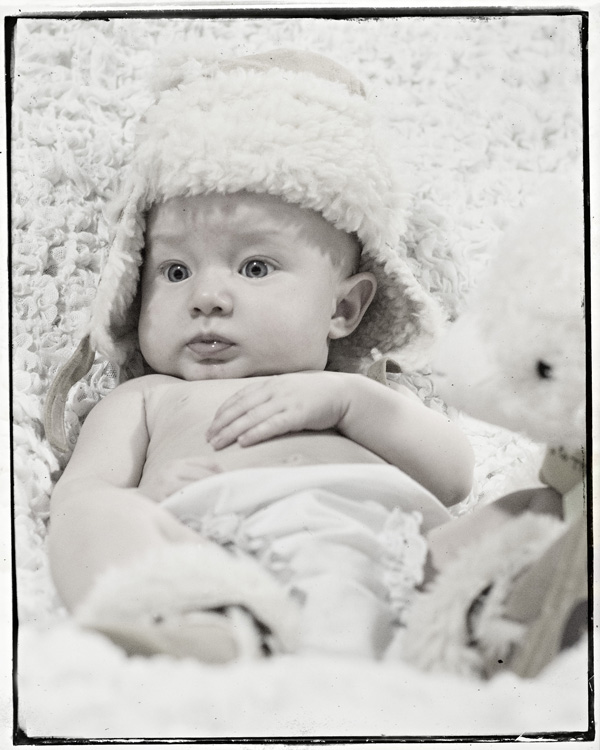 bw three month baby pictures