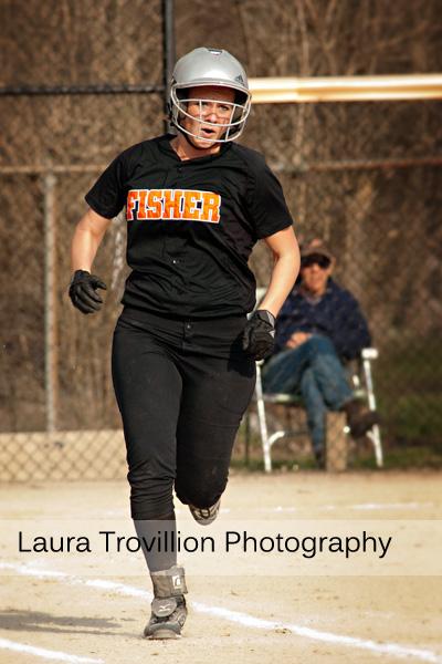 High school softball action photos