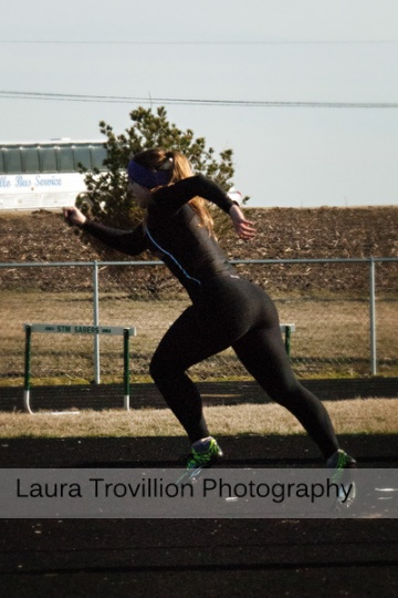 Fisher High School Girls Track Action Photos