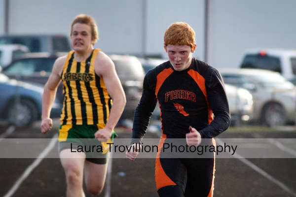 High School Boys Track Action Photos