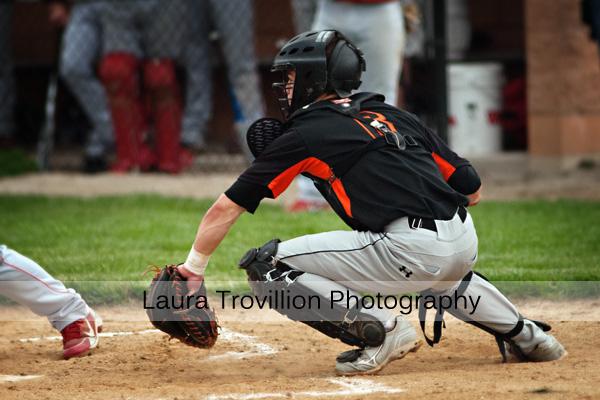 High school baseball action photos