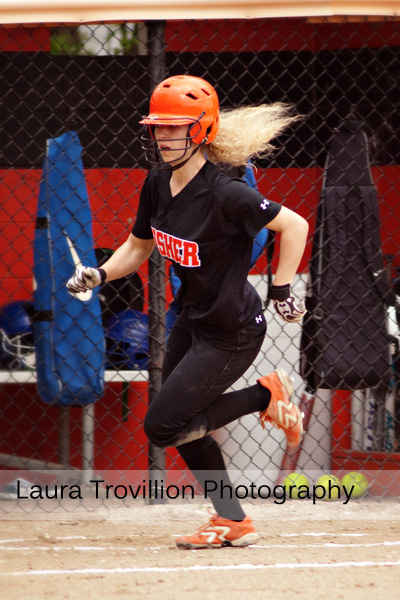 softball action photos
