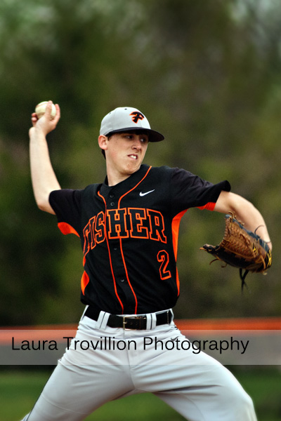 High school baseball action photos