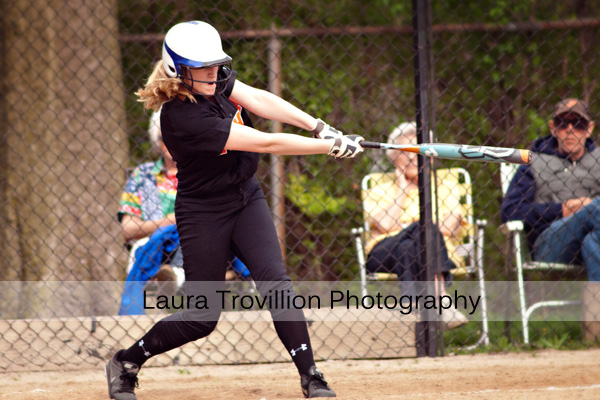 softball action photos