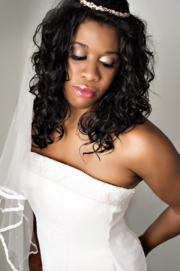 bridal Glam the Gown