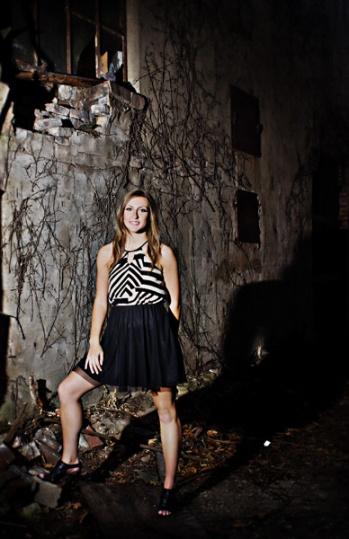 senior portraits - girl