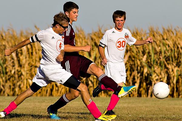 Sports action soccer photos