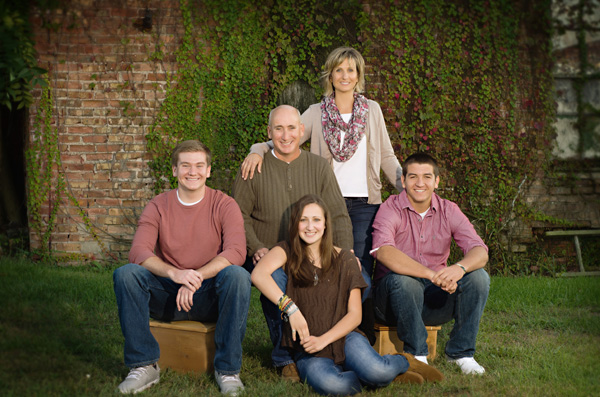 Senior Family Portrait