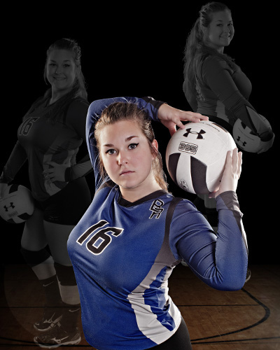 2016 senior volleyball sportrait