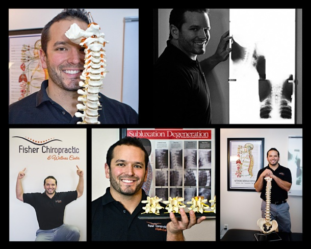 Environmental Portrait of a chiropractor