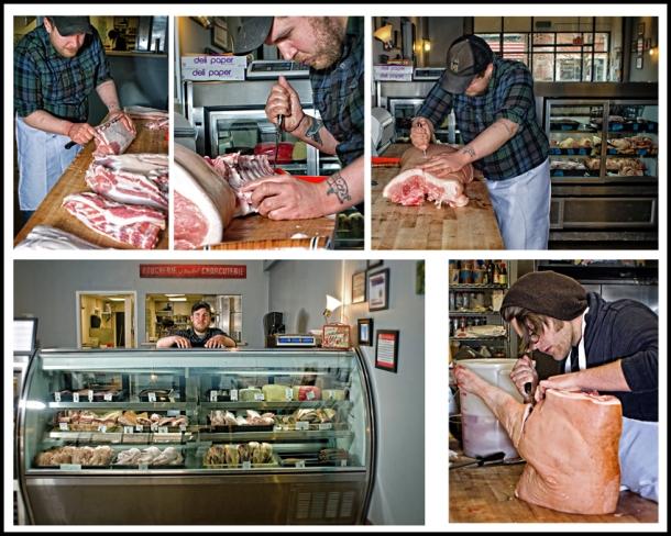 Environmental Portait -chef/butcher