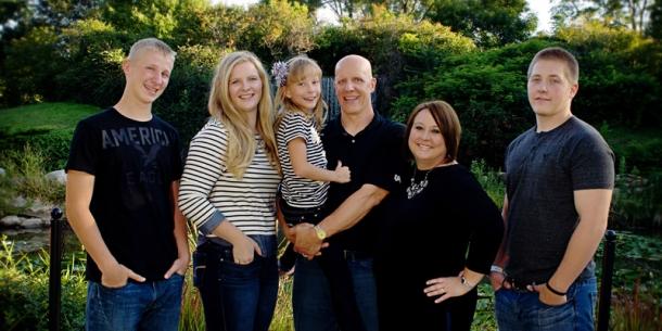 Senior Family Portrait