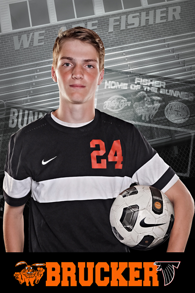 Senior Soccer Player
